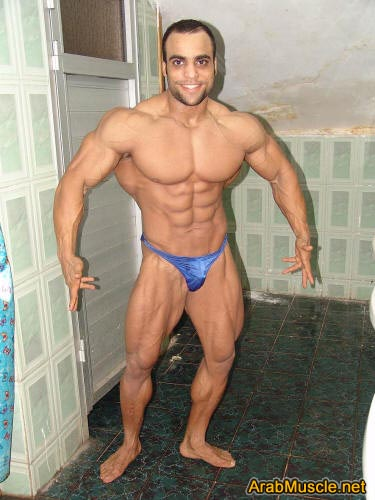 Bodybuilding arab