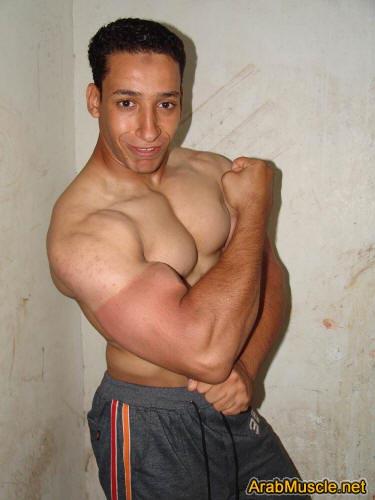 Bodybuilder Said Ali from Sharqiya