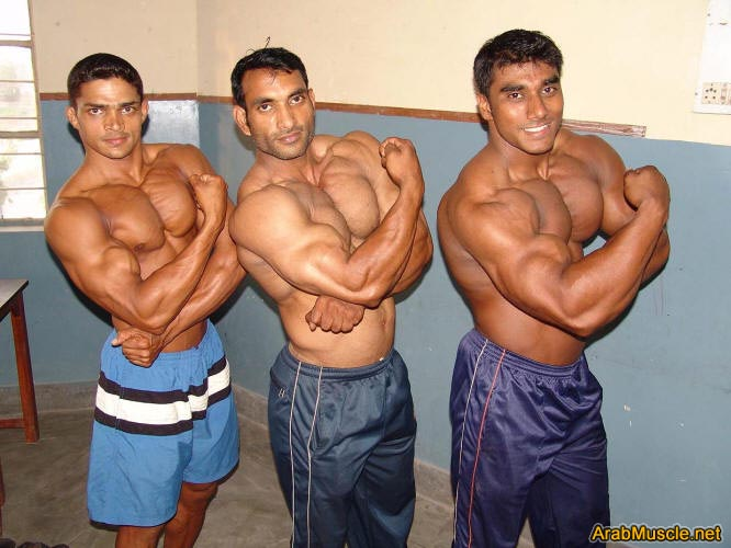 Bodybuilder Sangram Chougule from Pune