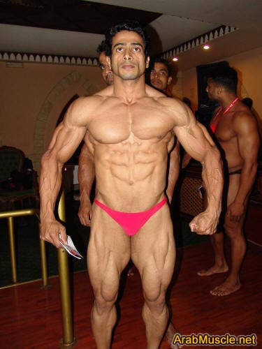Bodybuilder Suhas Khamkar from Mumbai
