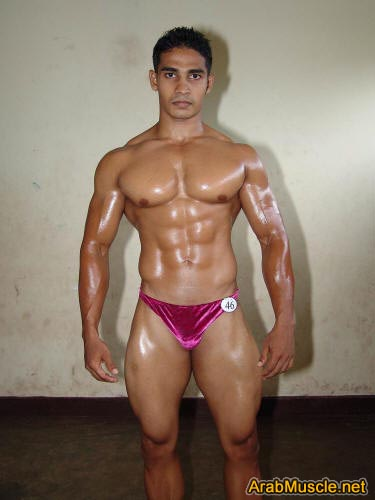Bodybuilder Udaya from Sri Lanka